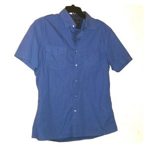 Banana Republic short sleeve button down shirt